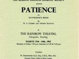 Patience programme